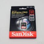 E-M1markⅡ用にSANDISKのSDカード(UHS-Ⅱ)を購入、テストしてみました