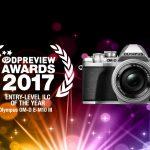 DPREVIEW AWARDS 2017でE-M10 MarkⅢがベストエントリーモデルカメラに選ばれました
