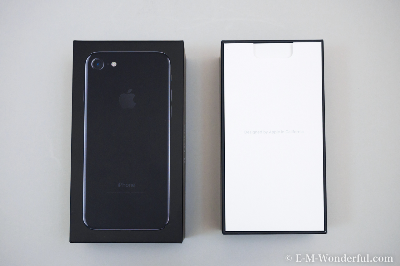20160923 P9230003 - iPhone7 ジェットブラックを開封と復元の手順