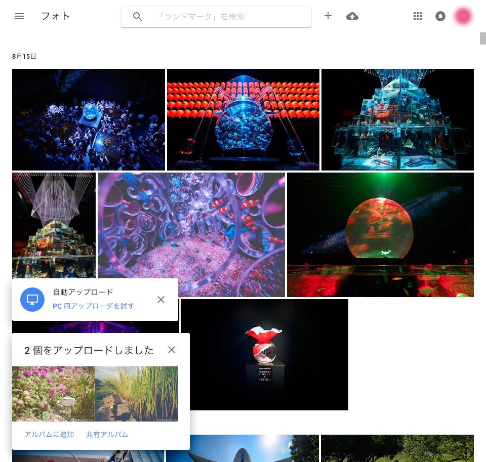 7d587a65610b020bac9f48364d437751 - 無料で使える、「Googleフォト」で写真を保存、管理しよう(PC編)