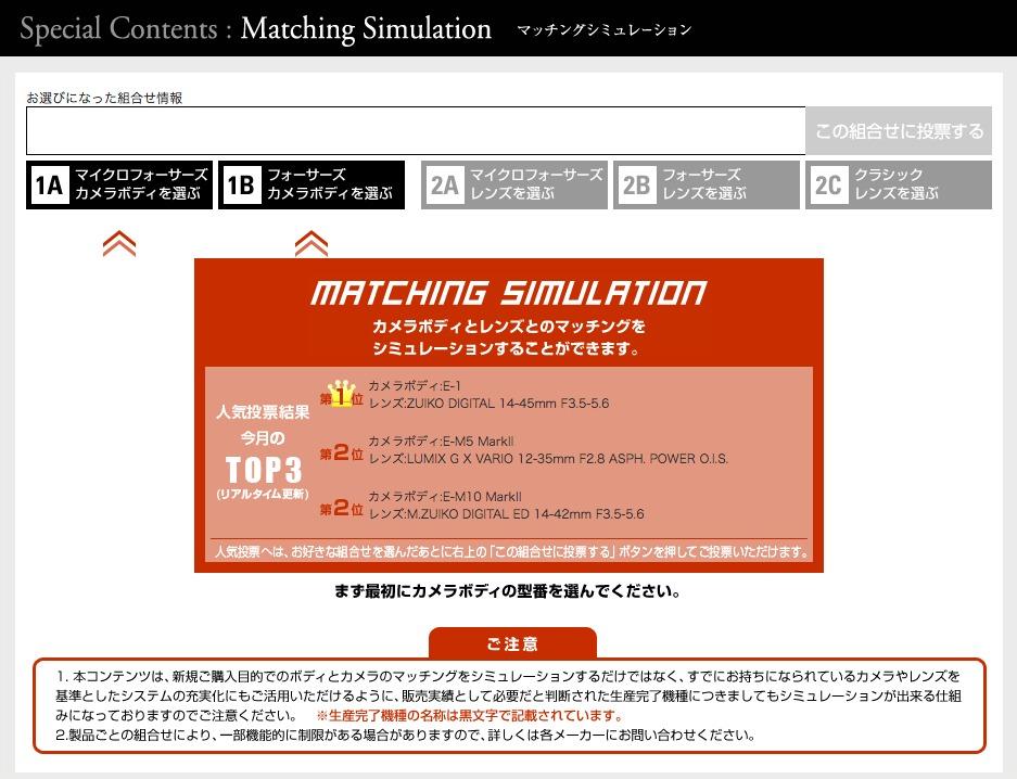 a4ab334d30624abe9a90914c72222127 - E-M1 Mark Ⅱにマッチングシミュレーションでいろいろなレンズを装着してみよう