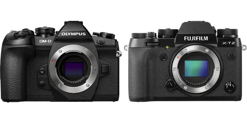 E M1mark2 x t2 - OLYMPUSとFUJIFILMのフラグシップ機、E-M1 Mark ⅡとX-T2を比べてみました