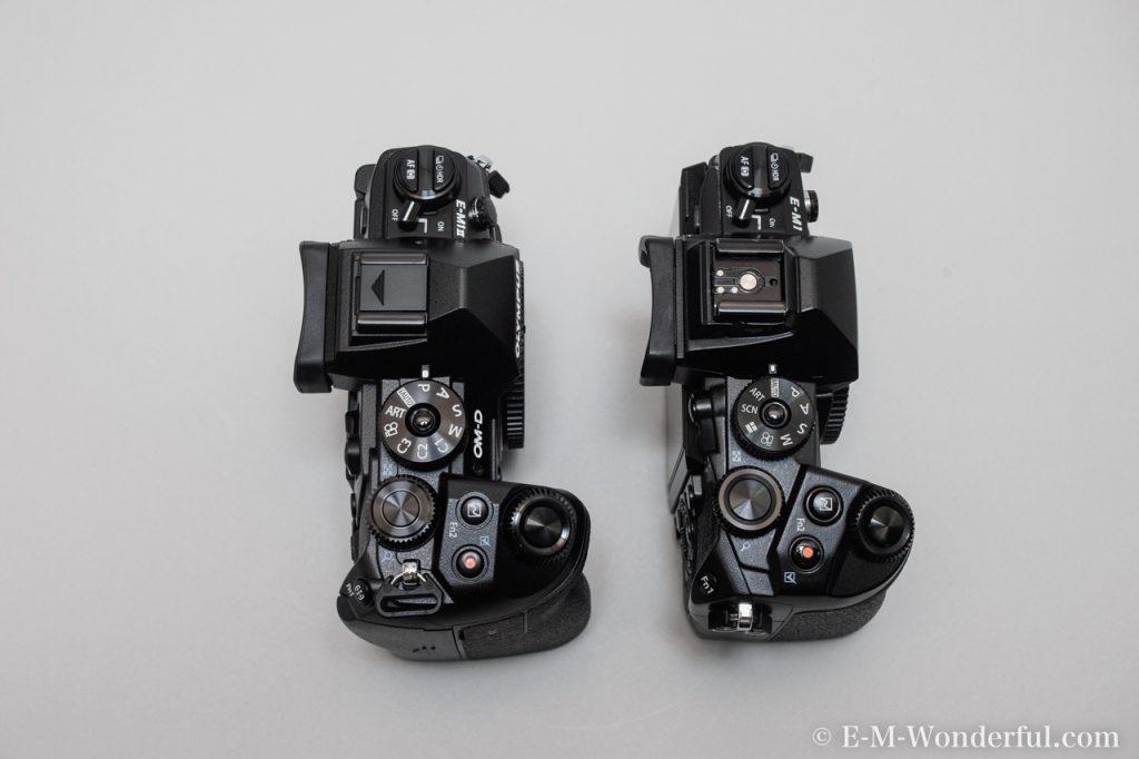 20161222 PC225544 1024x682 - OM-D E-M1 Mark Ⅱを購入、E-M1との外観の比較もしてみました