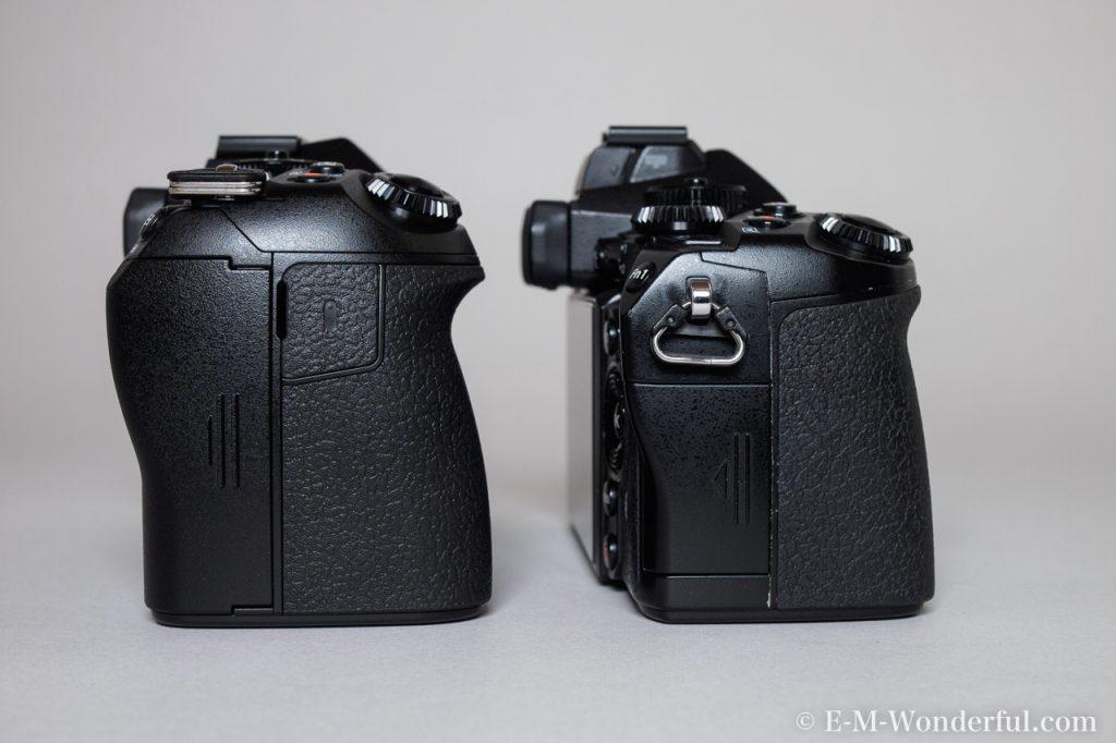 20161222 PC225546 2 1024x682 - OM-D E-M1 Mark Ⅱを購入、E-M1との外観の比較もしてみました