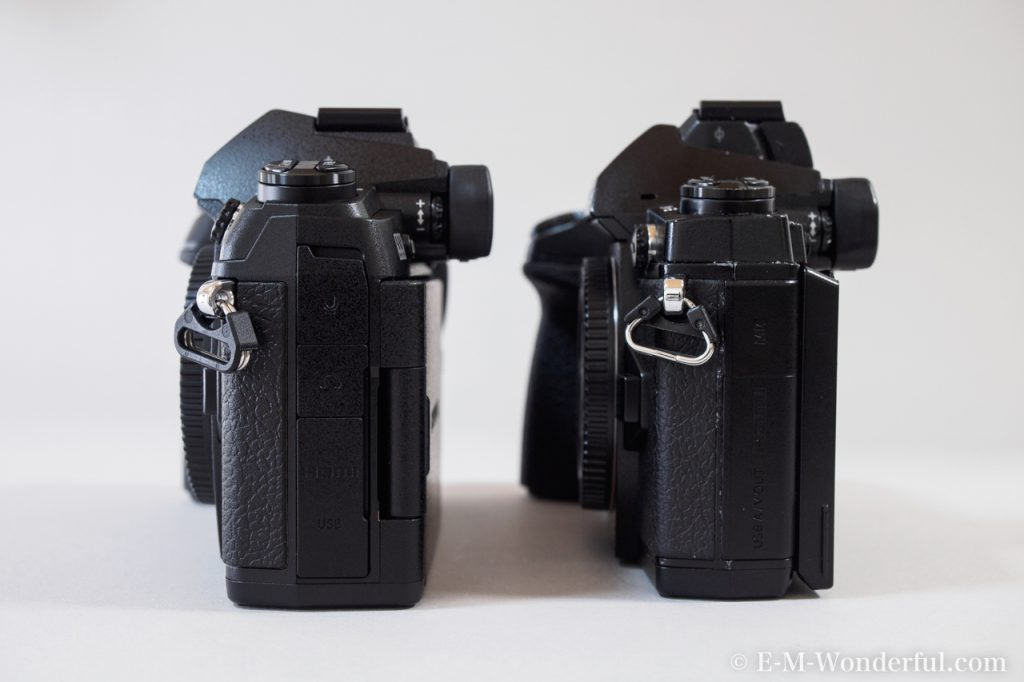 20161222 PC225553 1024x682 - OM-D E-M1 Mark Ⅱを購入、E-M1との外観の比較もしてみました
