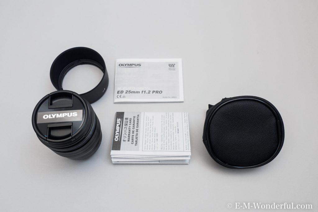20161222 PC220069 1024x682 - M.ZUIKO DIGITAL ED 25mm F1.2 PROを購入した理由と、外観レビュー