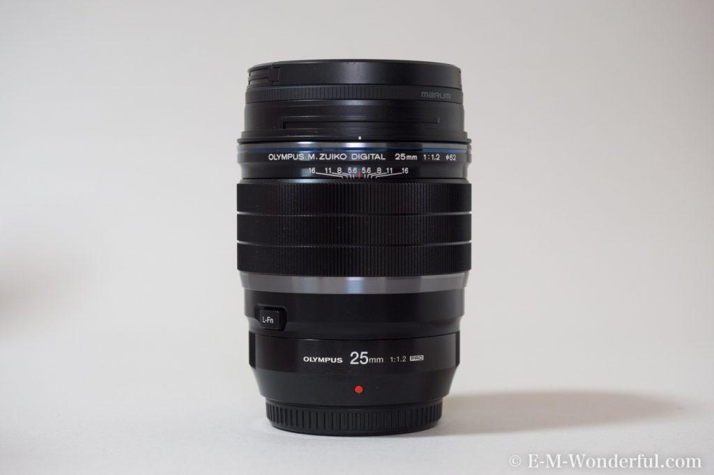 20170114 P1140037 1024x682 - M.ZUIKO DIGITAL ED 25mm F1.2 PROを購入した理由と、外観レビュー