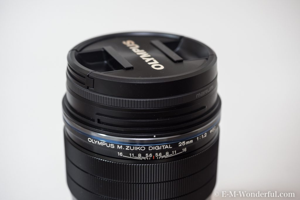 20170114 P1140041 1024x682 - M.ZUIKO DIGITAL ED 25mm F1.2 PROを購入した理由と、外観レビュー