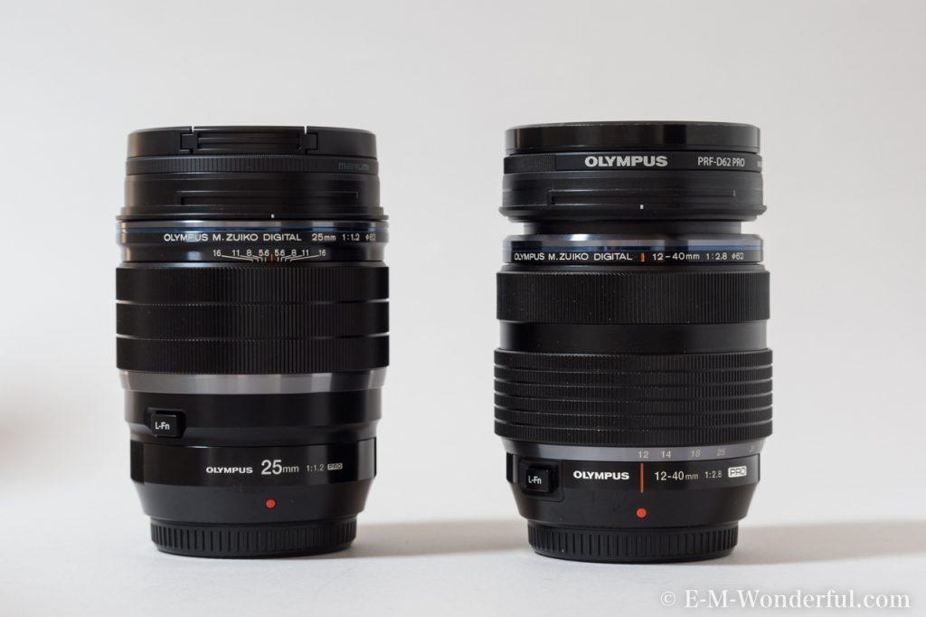 20170114 P1140048 1024x682 - M.ZUIKO DIGITAL ED 25mm F1.2 PROを購入した理由と、外観レビュー