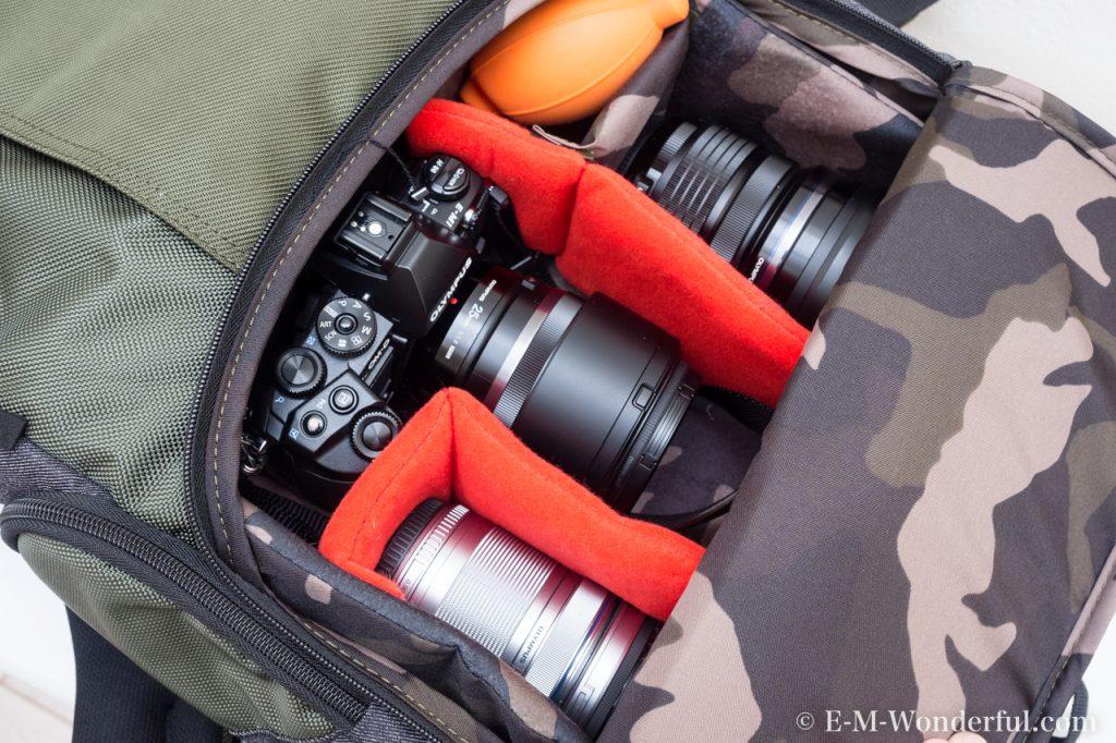 20170211 P2110099 1024x682 - 街でも使えるカメラリュック、Manfrotto Street バックパックを購入しました