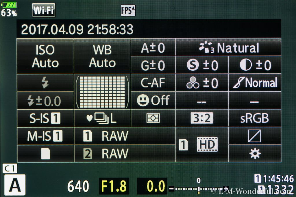 20170409 P4090080 1024x682 - E-M1markⅡの新機能、ダブルスロットについて解説