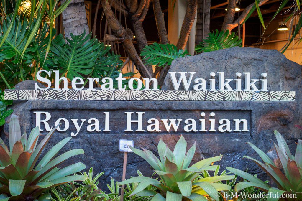 20170603 P6030743 1024x682 - 初めてハワイ旅行、シェラトン・ワイキキ・ホテルに宿泊しました