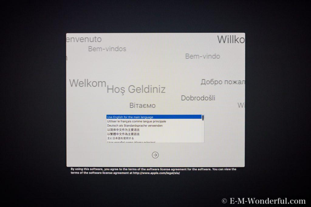 20170626 P6260113 1024x682 - iMac Retina 4K 21.5インチを開封、移行アシスタントを行いました