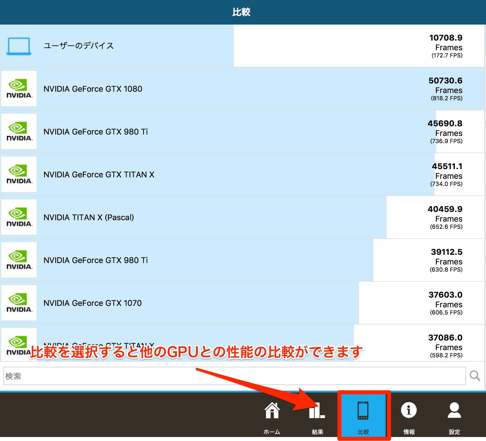 GFXBench Metal5 - iMac 4K Retina 21.5インチで様々なベンチマークテストを行なってみました