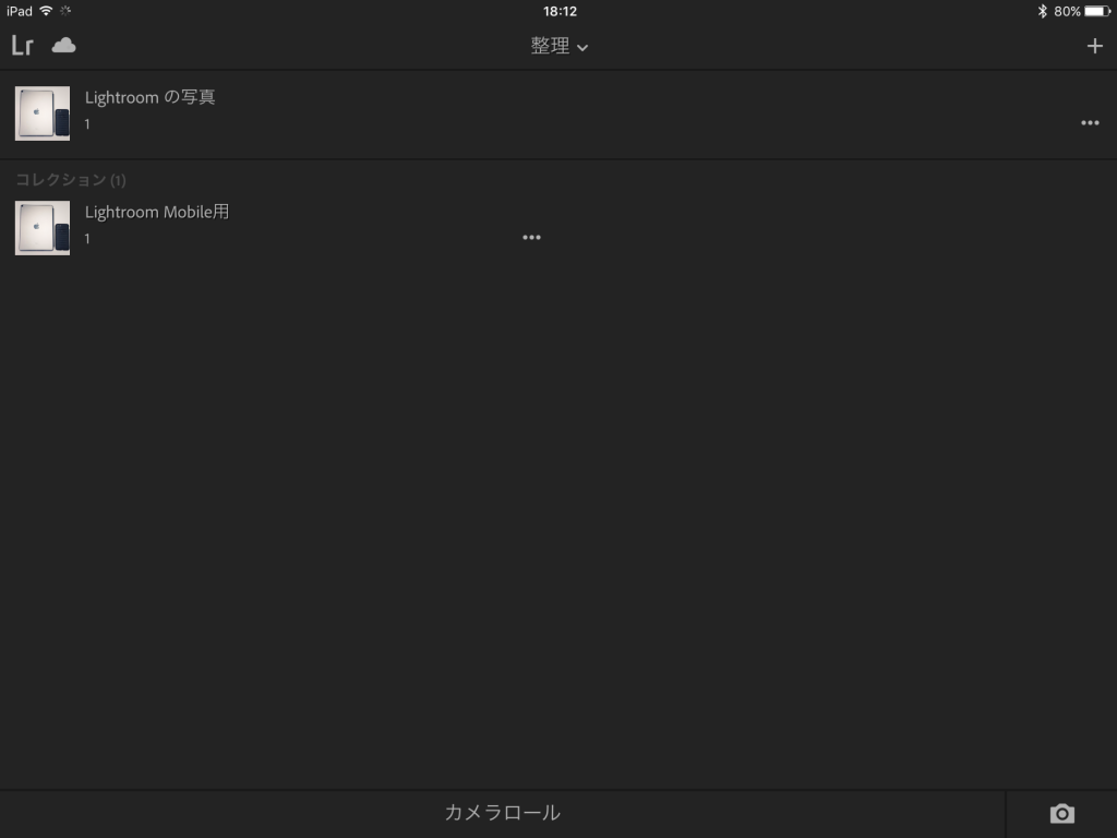 IMG 0086 1024x768 - iPad ProでAdobe Photoshop Lightroom CC モバイル版を使ってみました
