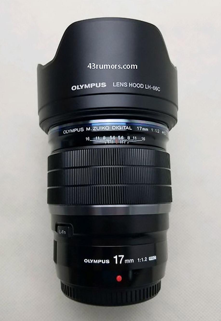 Olympus 12mm 12 - OLYMPUSの17mm F1.2 PROレンズの画像が公開されました