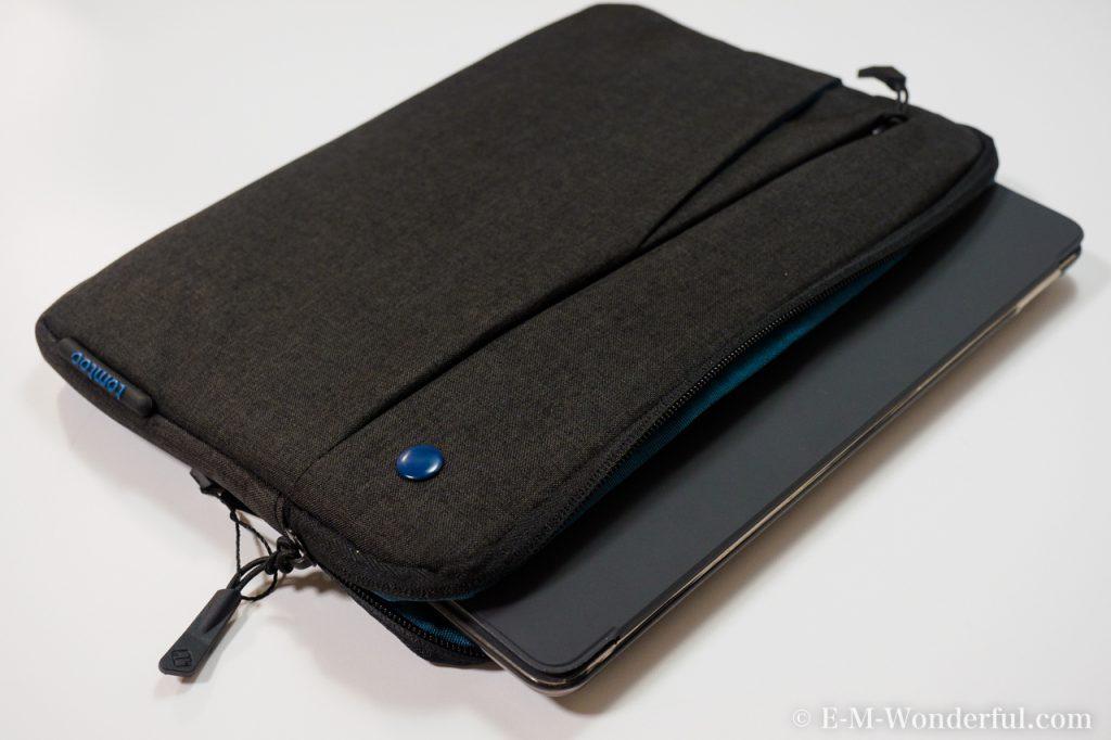 20170927 P9270022 1024x682 - iPad Pro 10.5インチに最適、Tomtoc スリーブケースを購入しました