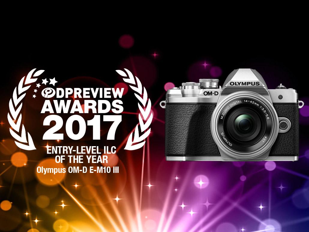 awards best entry level ilc 2017 - DPREVIEW AWARDS 2017でE-M10 MarkⅢがベストエントリーモデルカメラに選ばれました