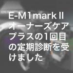 e3c79865eeb11784fb066d8e78f56b4e 150x150 - E-M1markⅡオーナーズケアプラスの1回目の定期診断を受けました