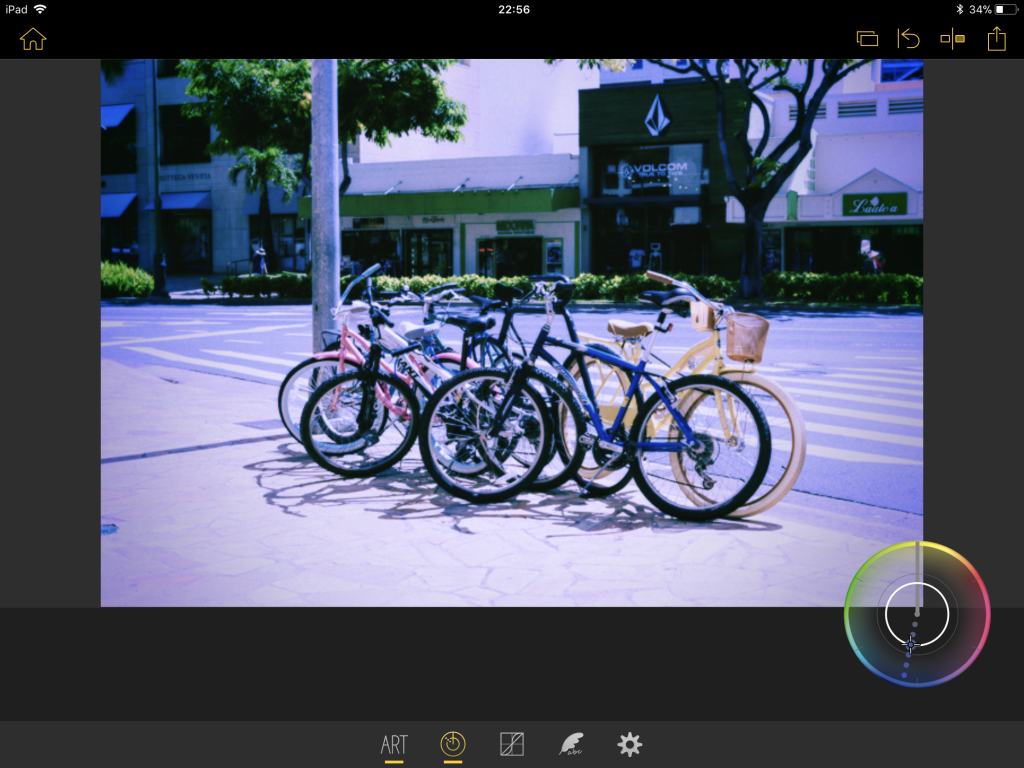 IMG 0816 1024x768 - 写真をおしゃれに加工できる、Olympus Image Palette(オリンパスイメージパレット)の使い方