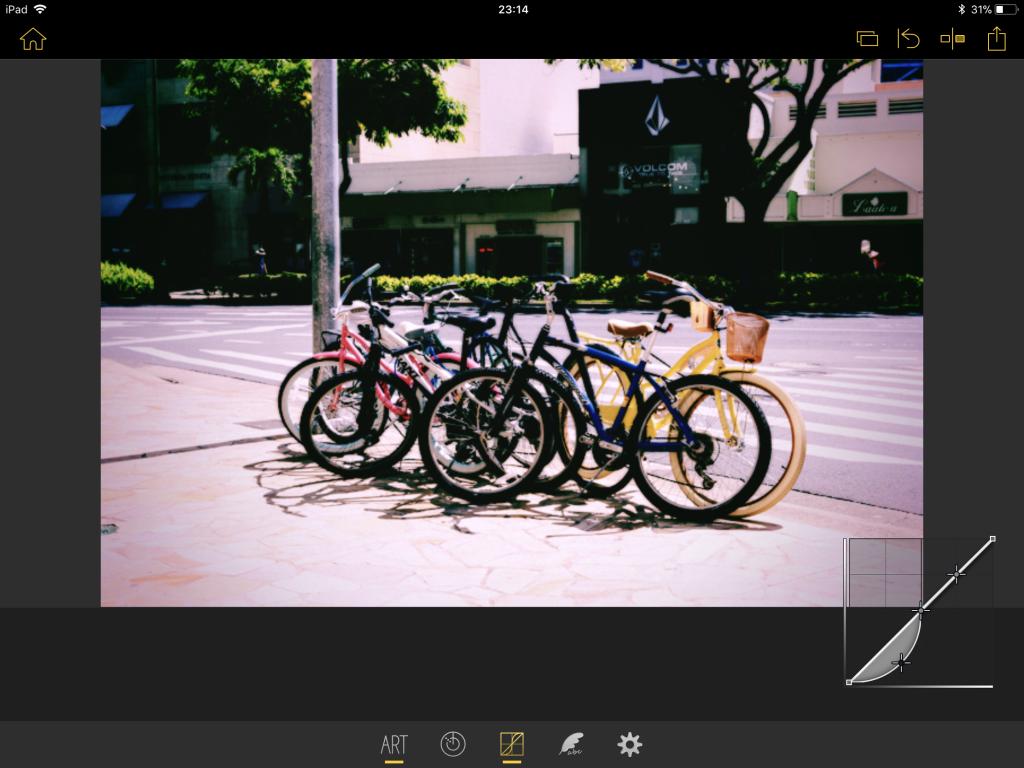 IMG 0819 1024x768 - 写真をおしゃれに加工できる、Olympus Image Palette(オリンパスイメージパレット)の使い方