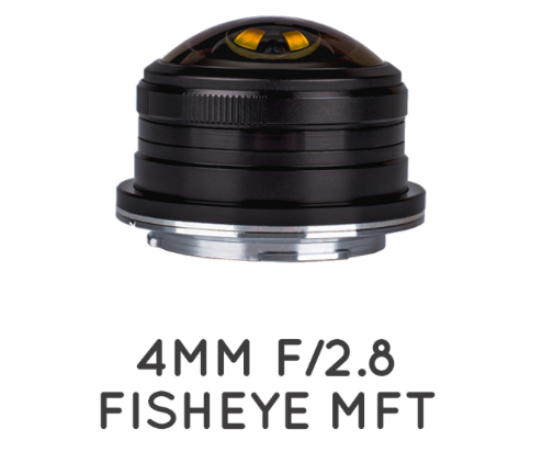 4mm - Venus OpticsがLaowa 4mm F2.8フィッシュアイレンズを正式発表しました