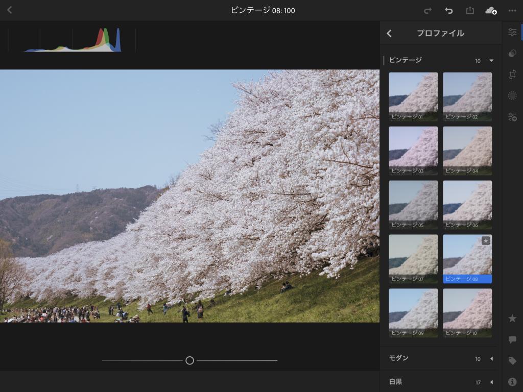 IMG 0912 1024x768 - プロファイルやUprightが追加された、Lightroom CC モバイル版Ver3.2.0がリリースされました