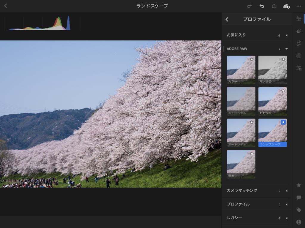 Image 2018 04 04 7 17 1024x768 - プロファイルやUprightが追加された、Lightroom CC モバイル版Ver3.2.0がリリースされました