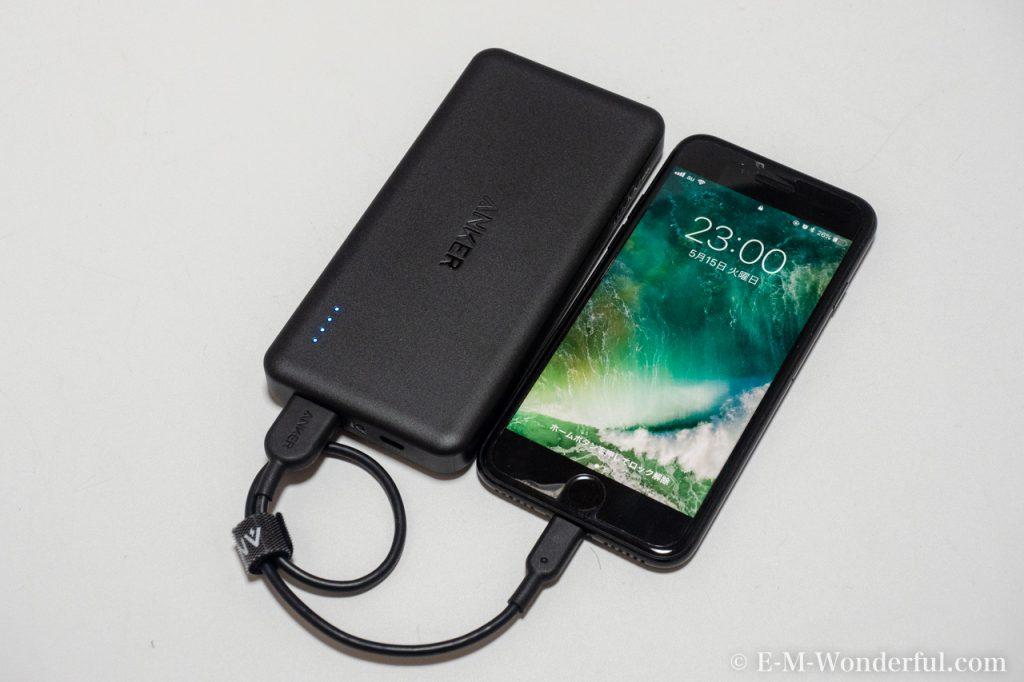20180515 P5150073 1024x682 - 大容量でスリムなモバイルバッテリー、Anker PowerCore II Slim 10000購入レビュー