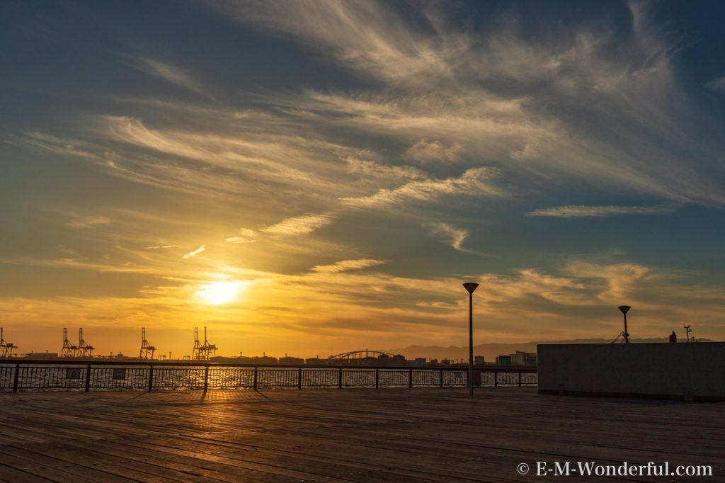 20180826 P8260042 Edit 1024x682 - 大阪港で一番綺麗な夕日が見られる、ダイヤモンドポイントに行ってきました