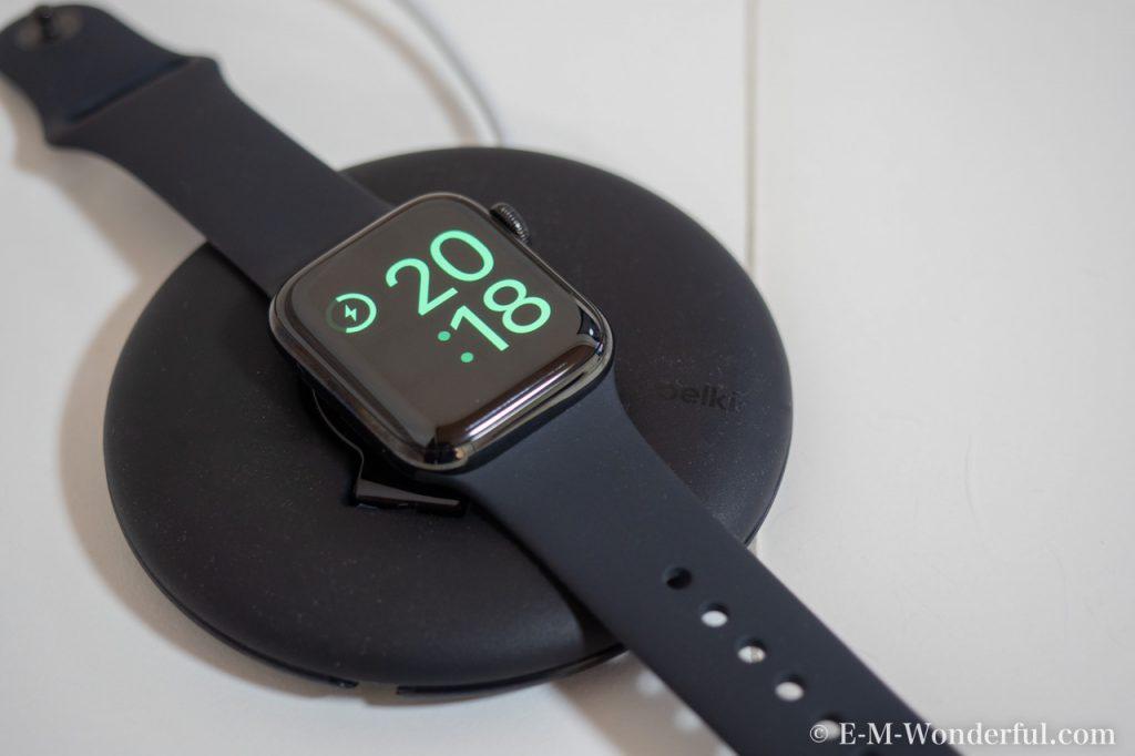 20180930 P9300152 1024x682 - belkinのApple Watch 充電スタンドを購入しました