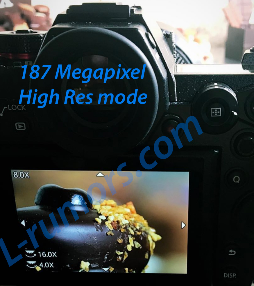 187MP - S1・S1Rの予約開始日、交換レンズスペック、ハイレゾ撮影の噂