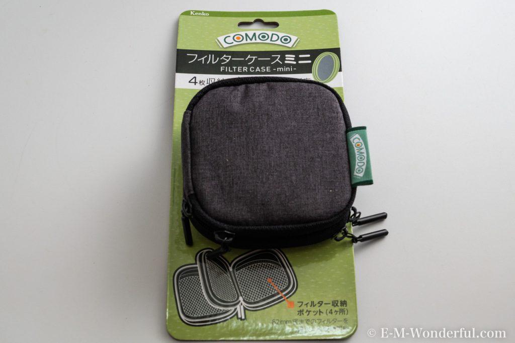 20190107 P1070607 1024x682 - フィルターを気軽に持ち歩ける、Kenko COMODO フィルターケース miniレビュー