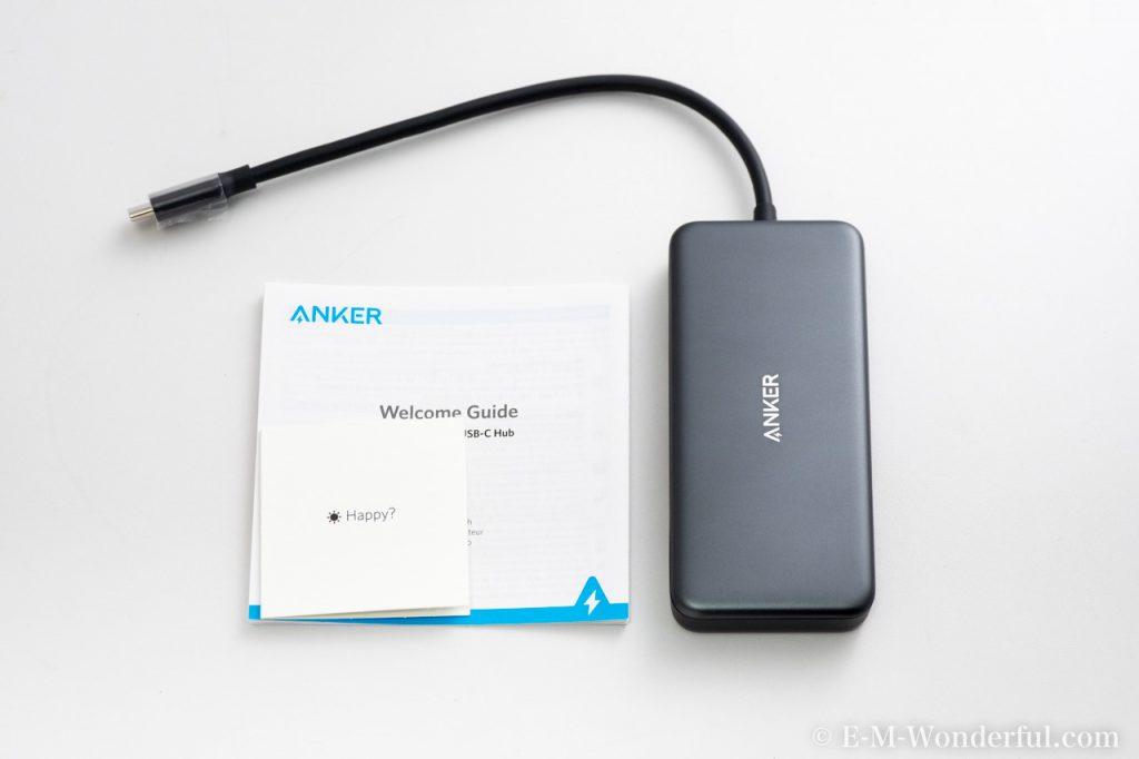 20190210 P2100201 1024x682 - Mac Bookにオススメ、Anker 7 in-1 プレミアム USB-Cハブ購入レビュー