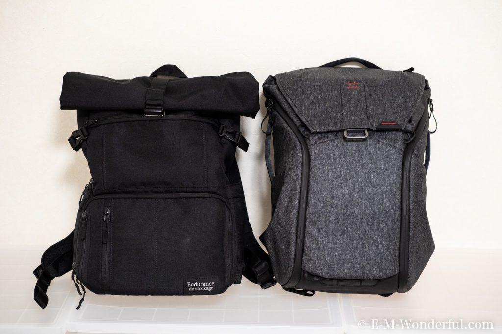 20190331 P3310407 1024x682 - 人気のカメラバッグ、Peak Design(ピークデザイン) Everyday BackpackとEndurance カメラバッグ Ext比較レビュー
