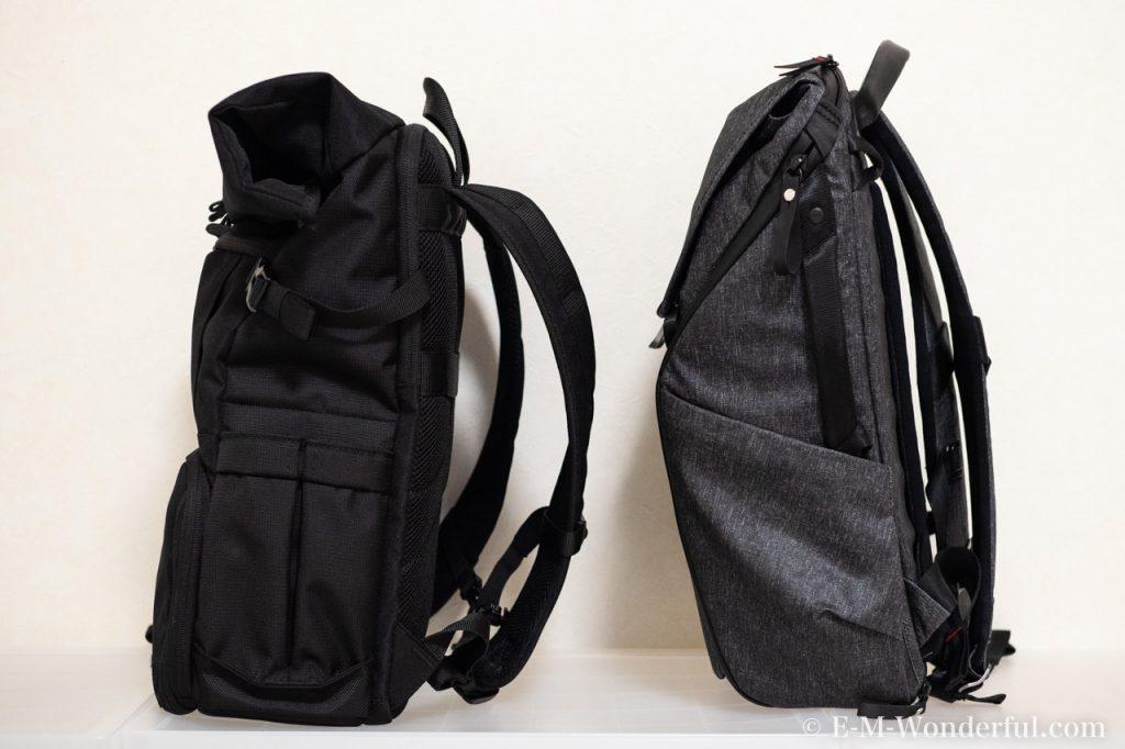20190331 P3310409 1024x682 - 人気のカメラバッグ、Peak Design(ピークデザイン) Everyday BackpackとEndurance カメラバッグ Ext比較レビュー