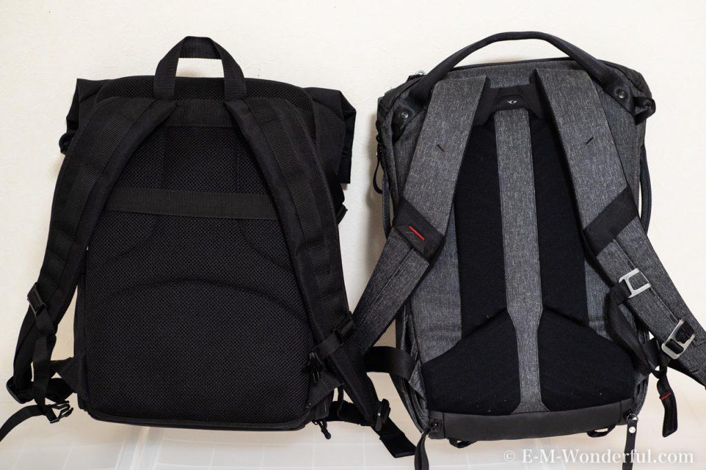 20190331 P3310411 1024x682 - 人気のカメラバッグ、Peak Design(ピークデザイン) Everyday BackpackとEndurance カメラバッグ Ext比較レビュー