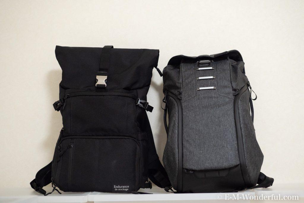 20190331 P3310419 1024x682 - 人気のカメラバッグ、Peak Design(ピークデザイン) Everyday BackpackとEndurance カメラバッグ Ext比較レビュー