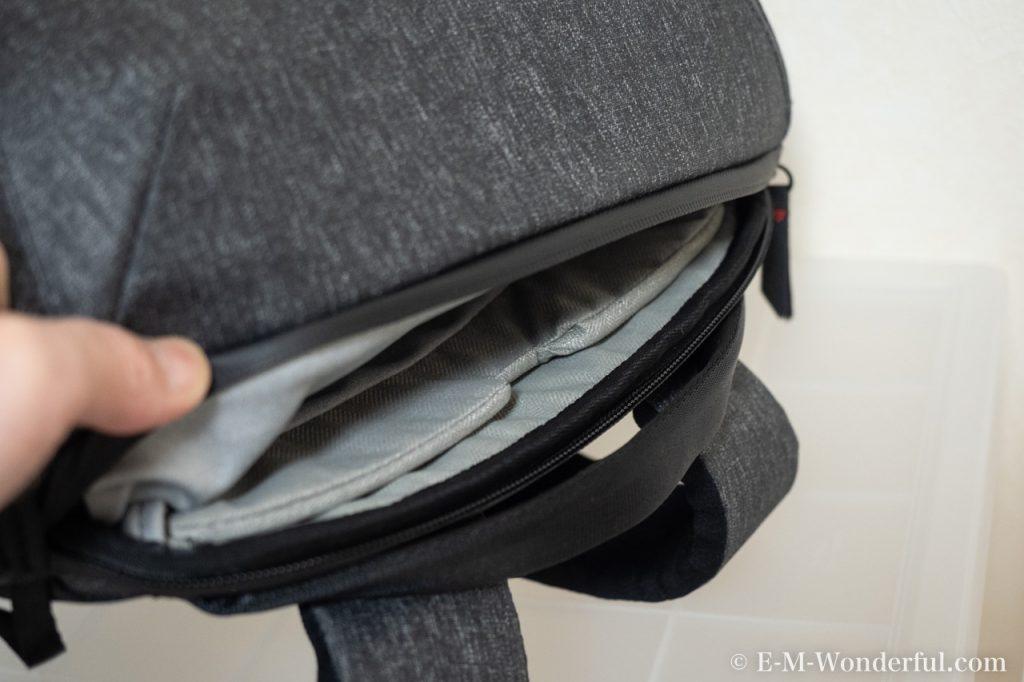 20190331 P3310433 1024x682 - 人気のカメラバッグ、Peak Design(ピークデザイン) Everyday BackpackとEndurance カメラバッグ Ext比較レビュー
