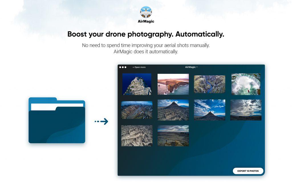 Boost 1024x658 - 空撮写真自動編集ソフト、AirMagicの予約注文が開始されました