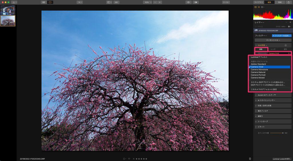 bc5bf4e3fef851fb29590207d5f6ef9e 1024x563 - 初心者でもできる、Luminar 3を使ったRAW現像の手順