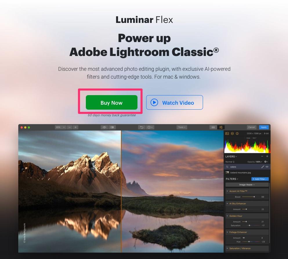 a12399be9dc9b4b35e05fd5bb1e4468e - Luminarの編集機能が他のアプリでも使える、Luminar Flexがリリースされました