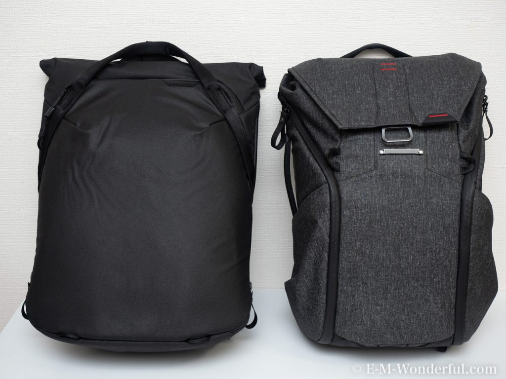 20191218 PC180085 1024x768 - Peak Design EVERYDAY TOTEPACKレビュー、トートorバックパック?
