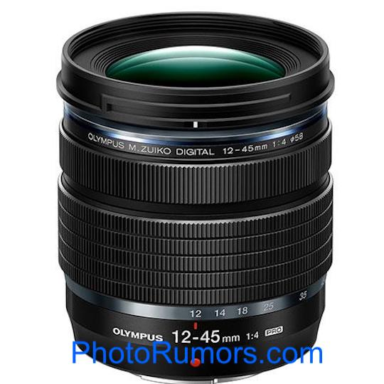 Olympus M.Zuiko Digital ED 12 45mm f4.0 PRO lens - 12-45mm F4.0 PROレンズのプレステキストがリークされました