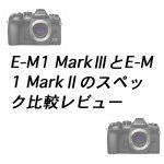 2a89de0d962c4fe1d0fc181bc3bba16a 150x150 - E-M1 Mark ⅢとE-M1 Mark Ⅱのスペック比較レビュー