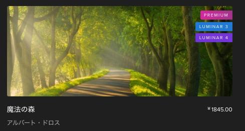 6d4a747473644dbe4d098e299f8c3b07 - Luminar 4のシグネチャー・森Looks、「魔法の森」レビュー