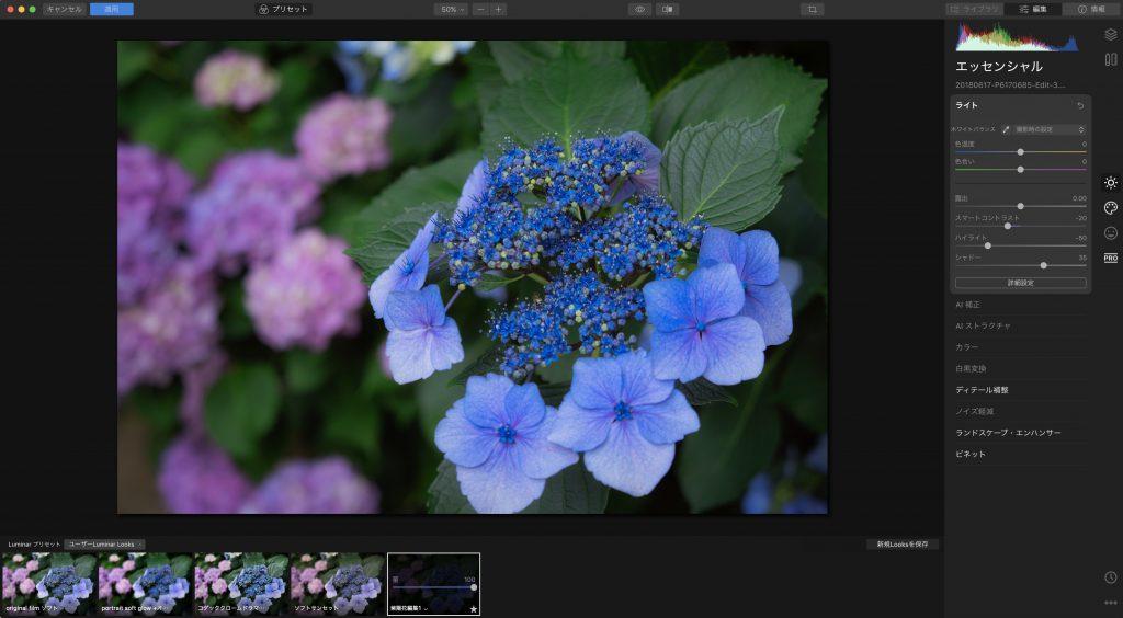 e4c3af037a058eefbaf0f7b603e08402 1024x564 - Luminar 4とLightroom併用ユーザーのためのプリセット活用術(Looks)
