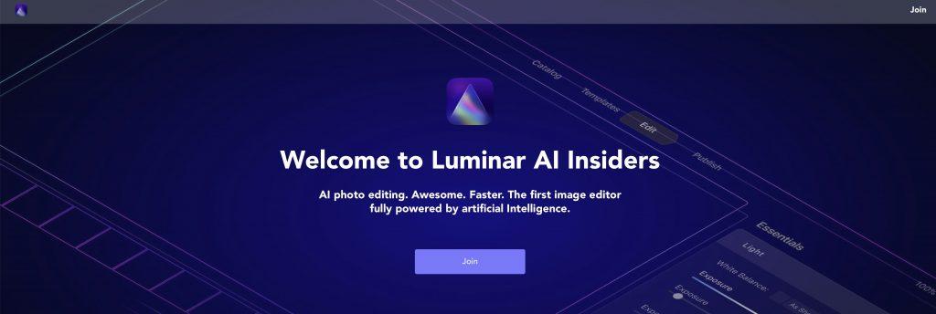 d71bbd551b1d3f9e3a874c703aadac64 1024x344 - Luminar AI Insidersの登録方法(先行予約特典)