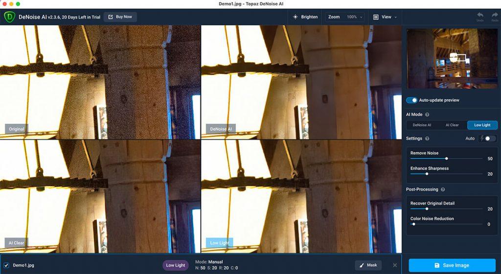 DeNoise AI24 1024x561 - クーポン付き!! Topaz Denoise AI 使い方&レビュー|画像ノイズ除去アプリ