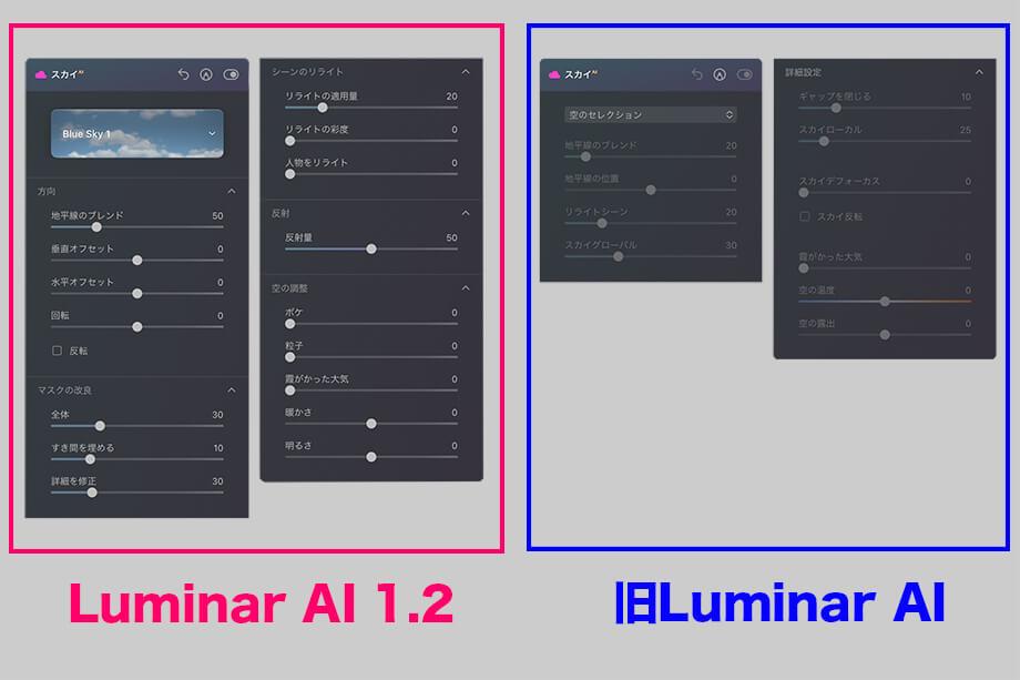 77b1af25a3def28d265e5910497cbd92 - Luminar AI バージョン 1.2 アップデート情報|スカイ AIで空の反射が追加・テンプレート機能の改善など